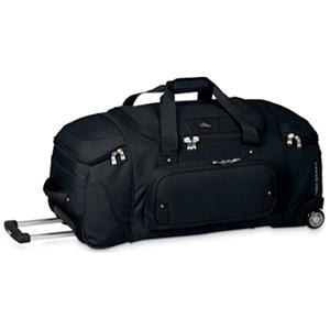 high sierra rolling duffel reviews