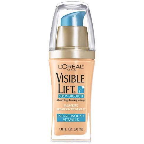 l oreal visible lift foundation reviews