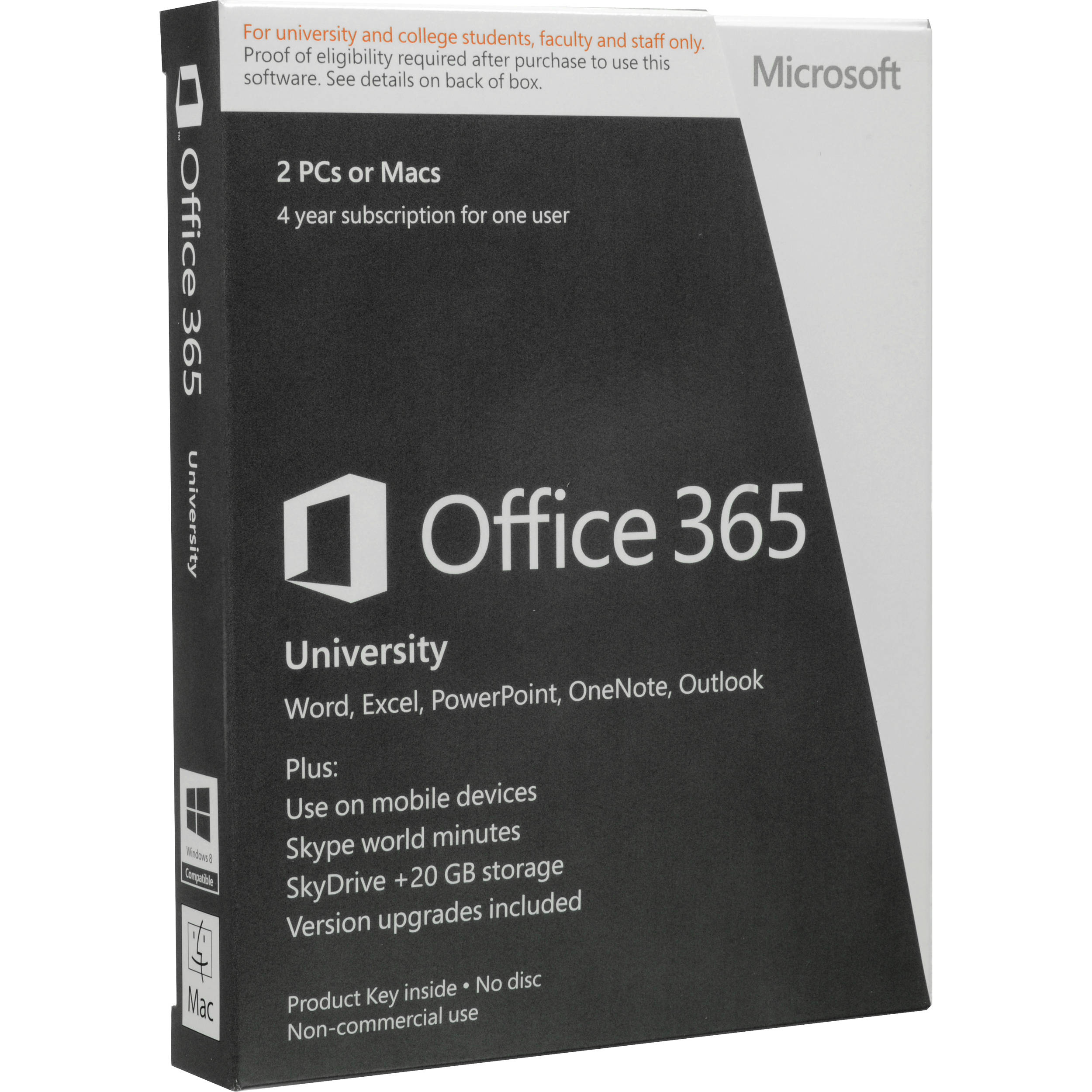 microsoft office 365 university review
