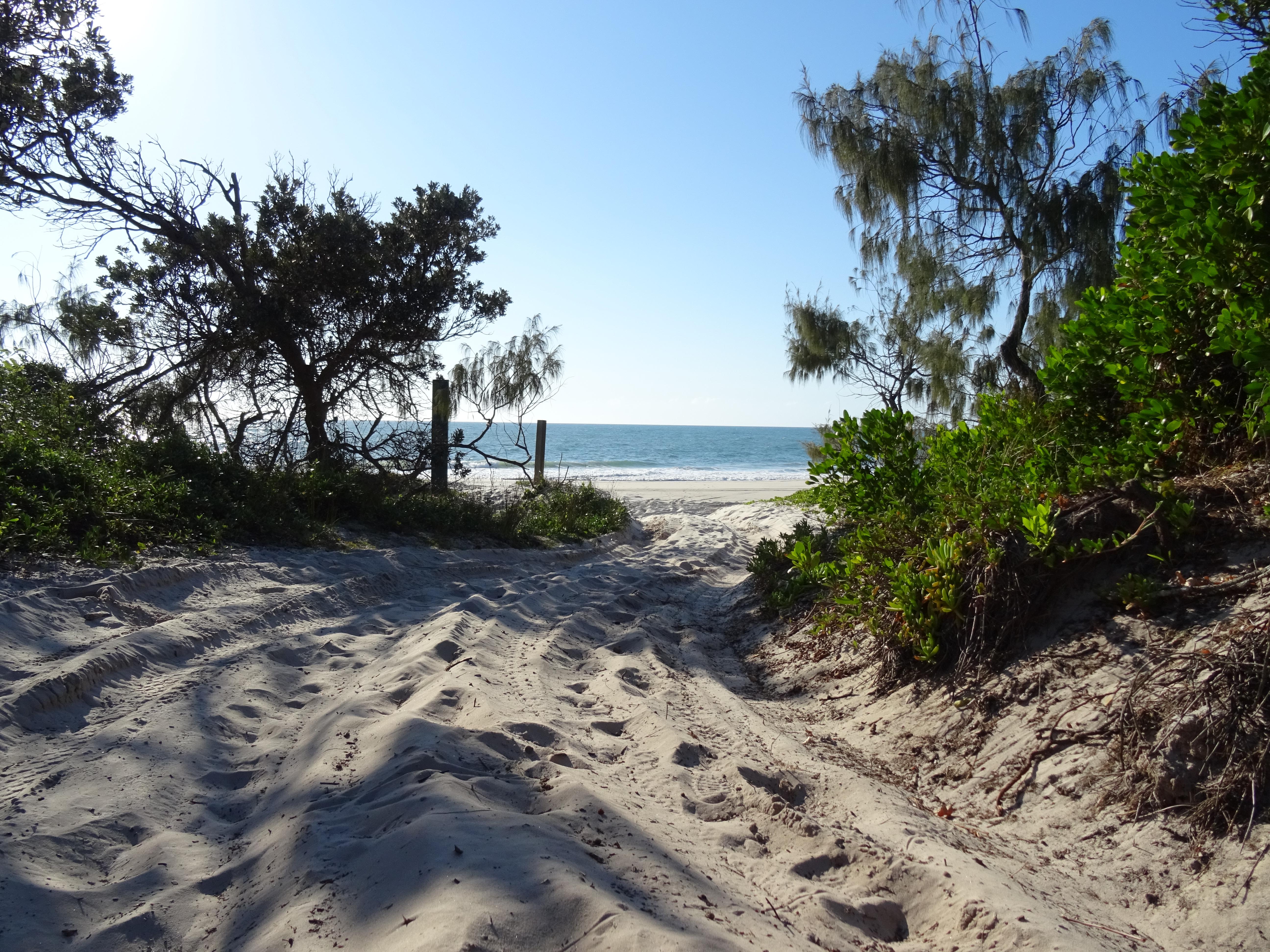 ocean beach camping bribie island reviews