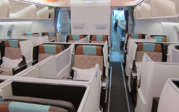 oman air 787 business class review