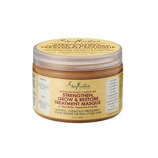 shea moisture jamaican black castor oil masque review