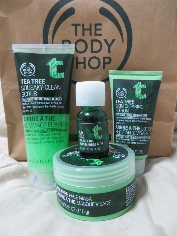 the body shop tea tree oil kit reviews